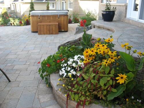 diy landscaping - garden bed
