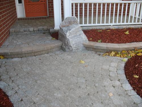 interlock stone verandah